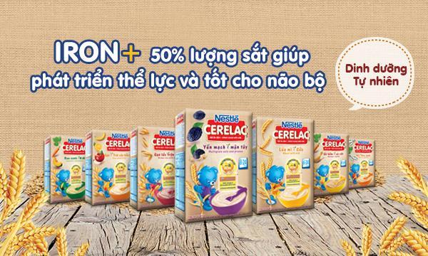 bột ăn dặm Nestle