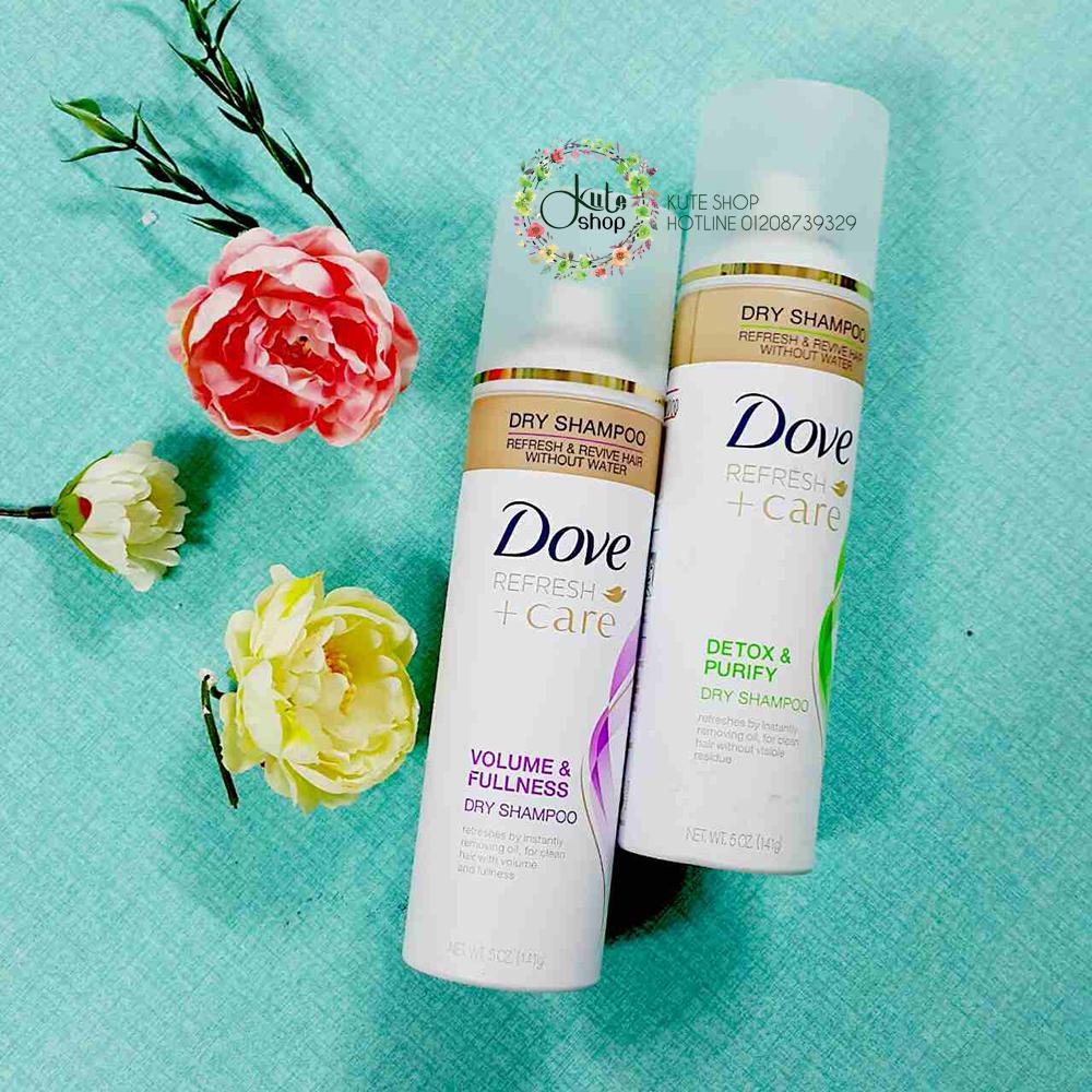 dầu gội khô Dove