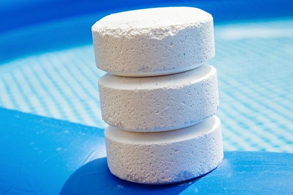 Ngoài dạng bột, Chlorine còn tồn tại dưới dạng viên