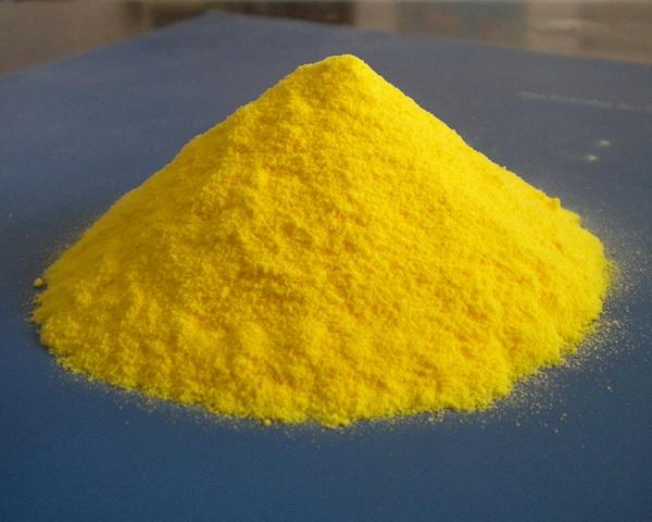 Hóa chất xử lý nước PAC có dạng bột vàng