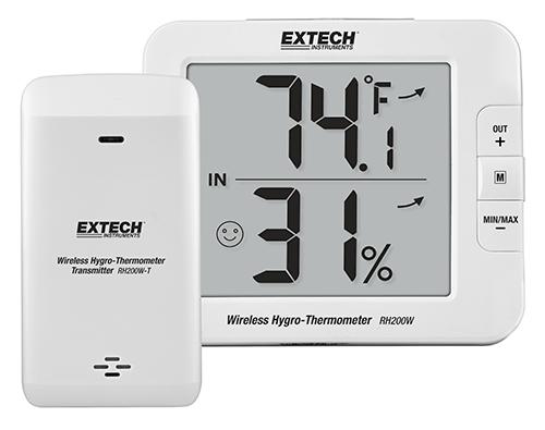 Hình ảnh đồng hồ đo nhiệt độ, độ ẩm Extech